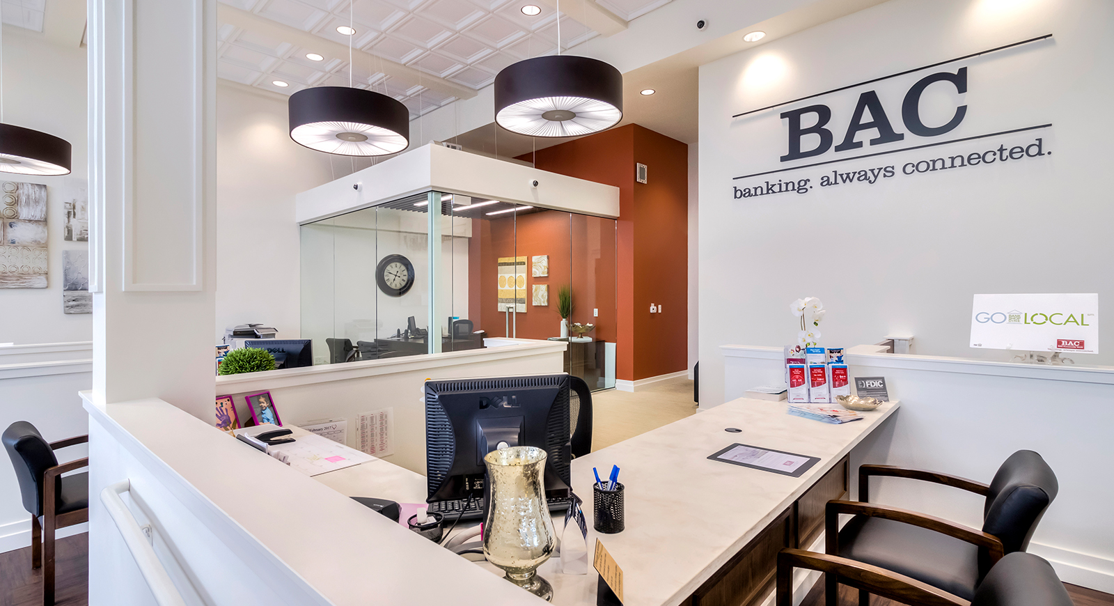 BAC Community Bank Renovation Remodeling General Contractor Tracy