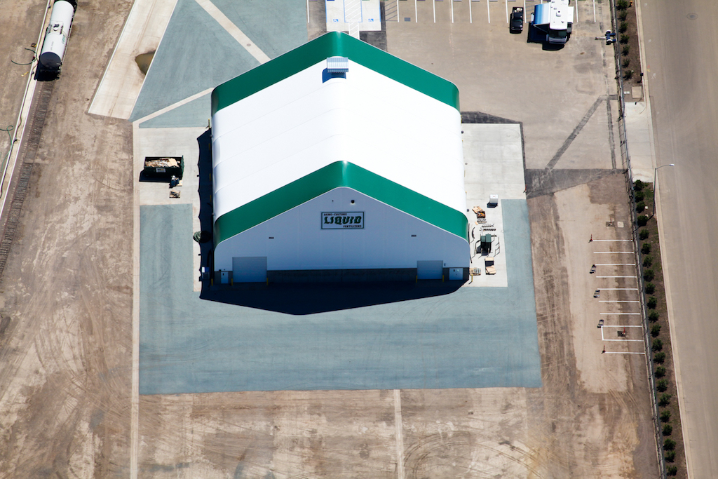 Agro Liquid Fertilizer Agriculture Farm Construction Industrial General Contractor Exterior Building Aerial