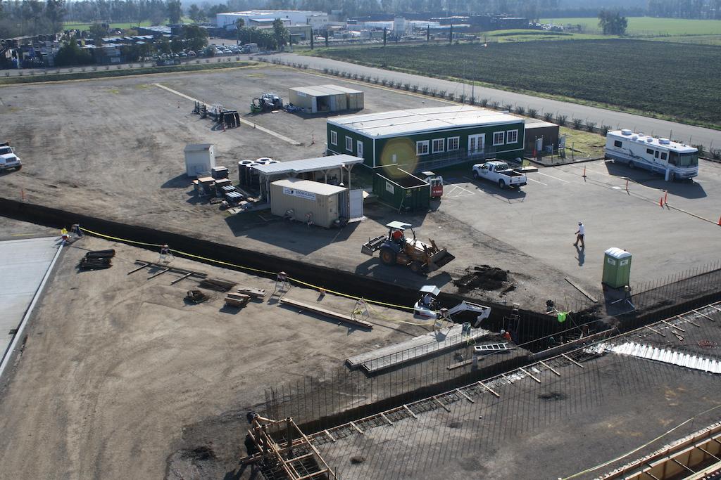 Agro Liquid Fertilizer Agriculture Farm Construction Industrial General Contractor Rail Pits Concrete Pour Prep