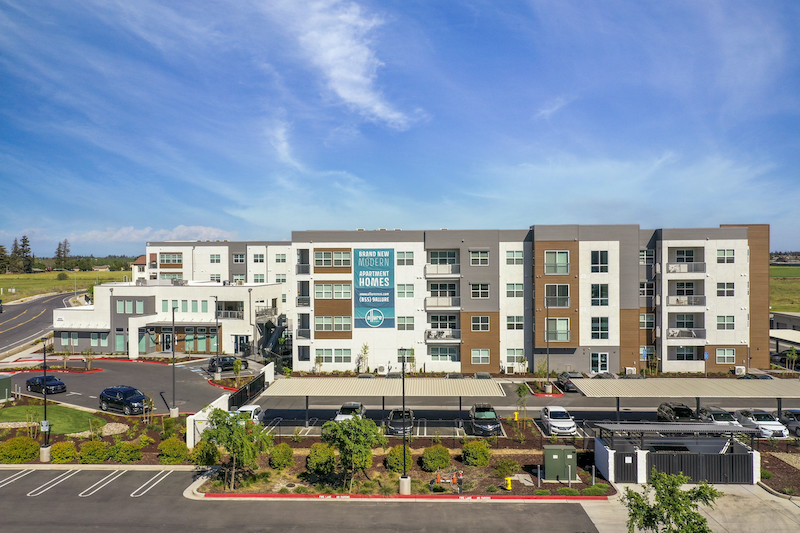 Allure Apartments Multi Family Residential Construction General Contractor Near Me Modesto Stockton Front View Exterior