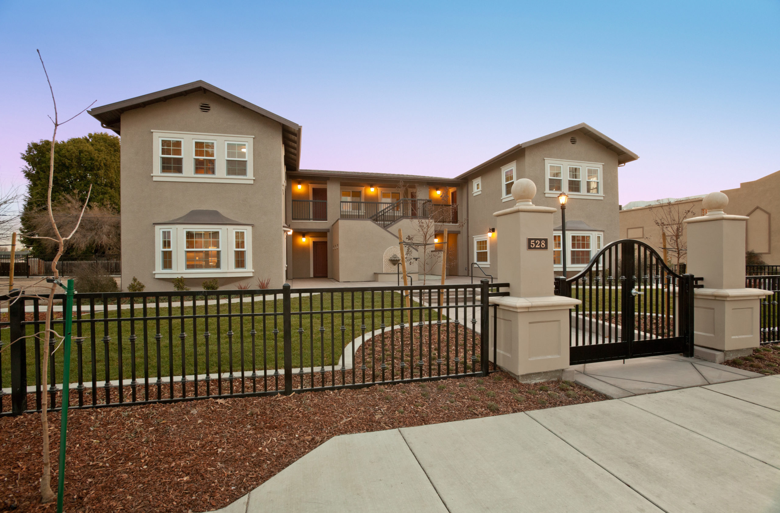 Hope Family Shelter Manteca Multi Family Residential Construction Apartment Complex Renovation Remodeling General Contractor Manteca Front Exterior Home