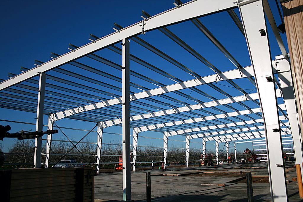 Morada Produce Agriculture Farm Construction General Contractor Steel Metal building Crop Storage