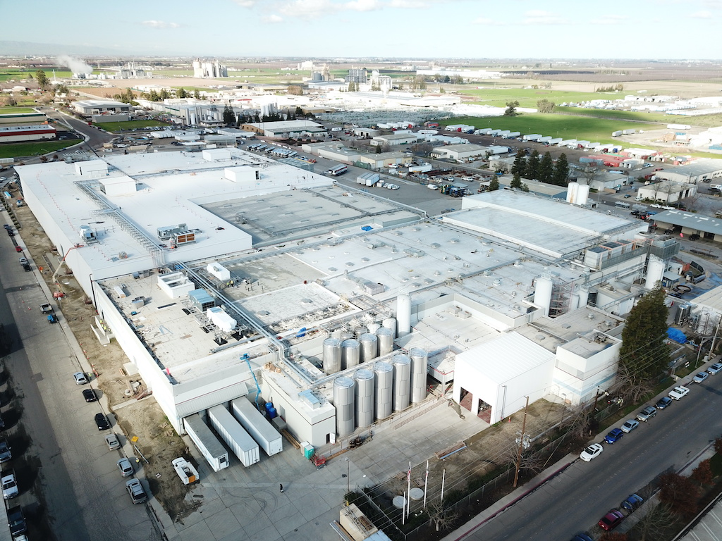 Super Stores Inc Industrial Construction General Contractor Turlock Warehouse Manufacturing Plant Facility Exterior