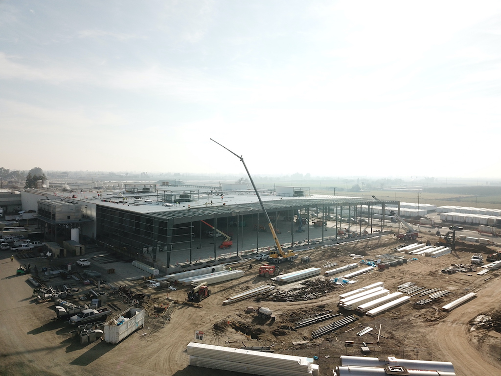 Super Stores Inc Industrial Construction General Contractor Turlock Warehouse Manufacturing Facility Plant Building