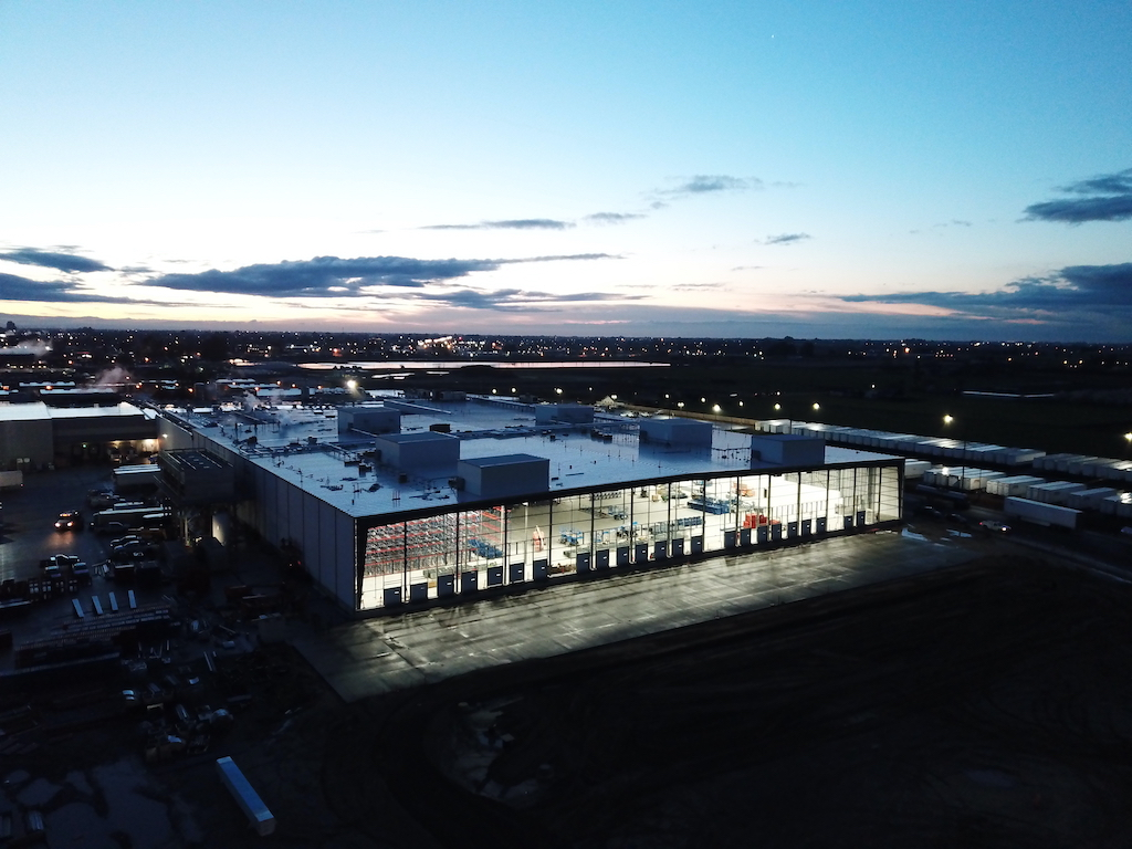 Super Stores Inc Industrial Construction General Contractor Turlock Warehouse Manufacturing Plant Facility Exterior Building