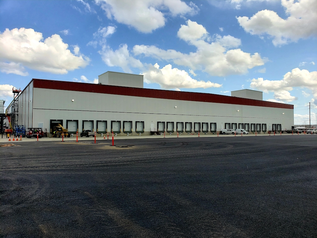 Super Stores Inc Industrial Construction General Contractor Turlock Warehouse Manufacturing Plant Storage Facility Exterior