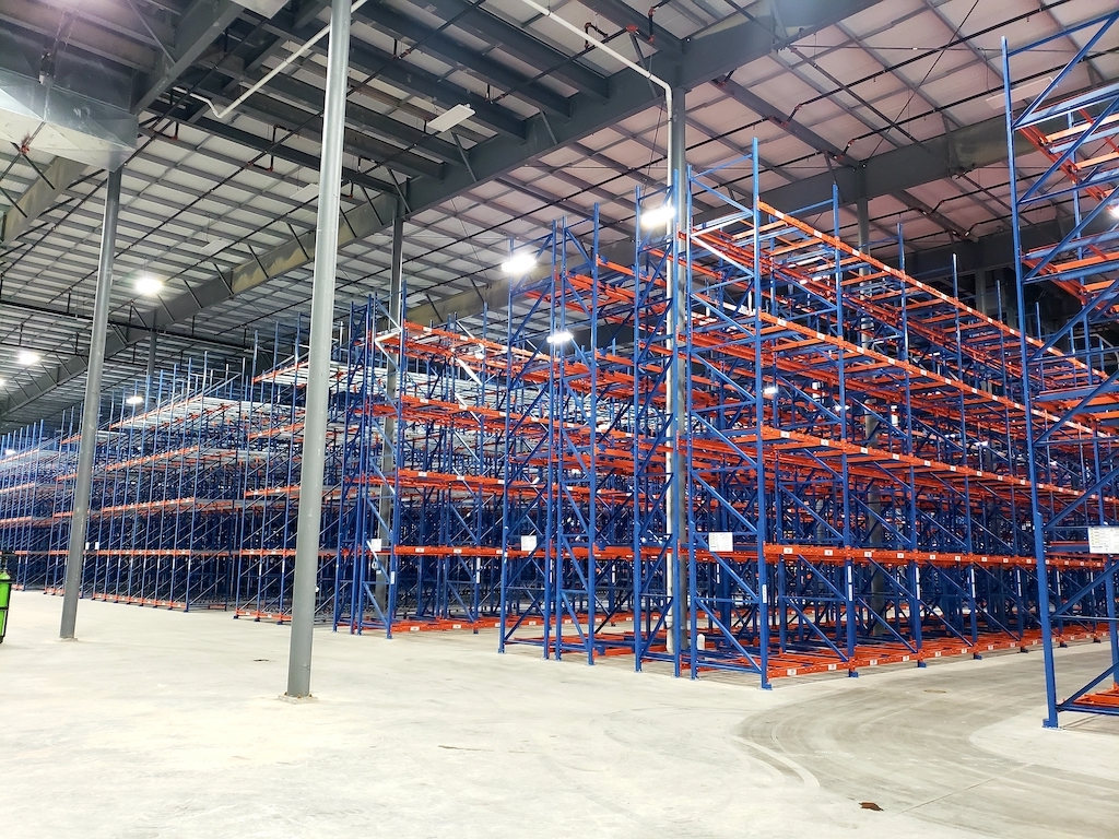 Super Stores Inc Industrial Construction General Contractor Turlock Warehouse Manufacturing Cold Storage Facility Interior Plant