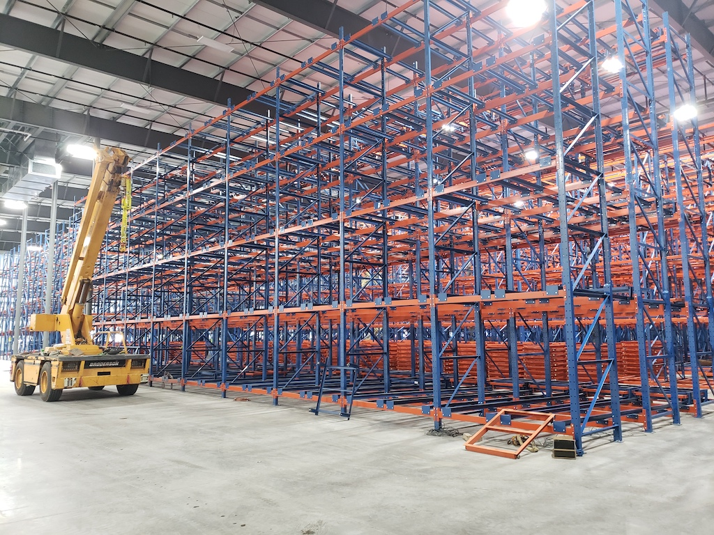 Super Stores Inc Industrial Construction General Contractor Turlock Warehouse Manufacturing Storage Racks Facility Plant