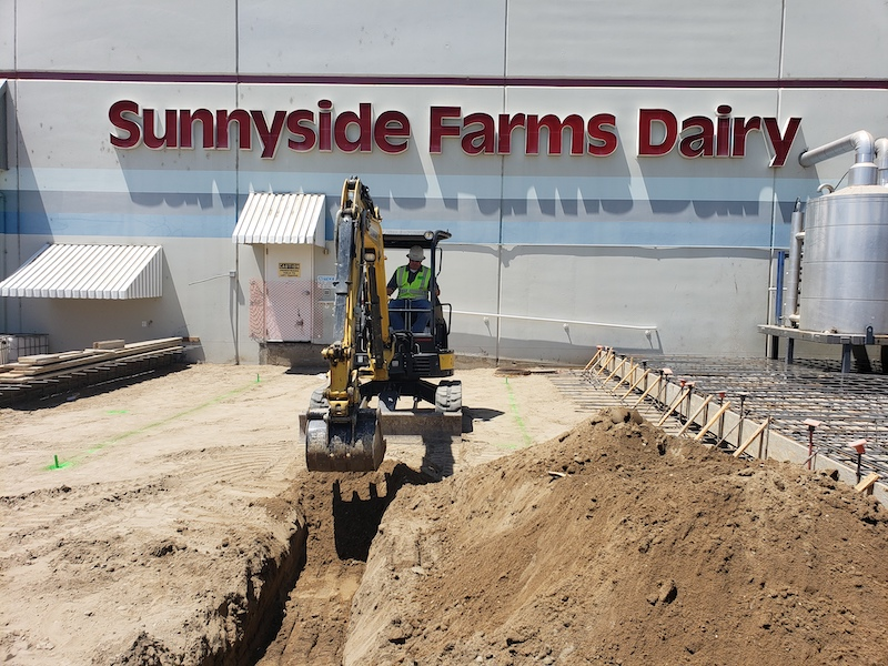 Super Stores Industrial Construction General Contractors Near Me Turlock Truck Terminal Sunnyside Farms Dairy