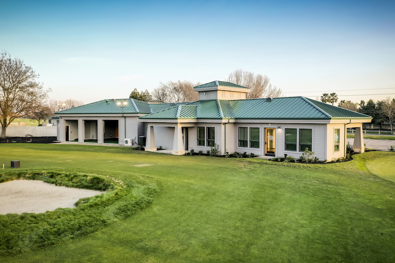 The Reserve at Spanos Park Golf Facility Commercial Construction General Contractors Near Me Stockton Exterior Rear View