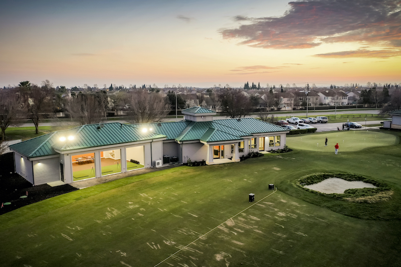 The Reserve at Spanos Park Golf Facility Commercial Construction General Contractors Near Me Stockton Exterior Range View