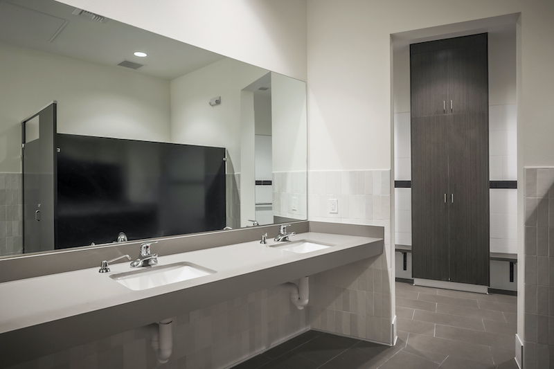 The Reserve at Spanos Park Golf Facility Commercial Construction General Contractors Near Me Stockton Interior Bathroom Sinks