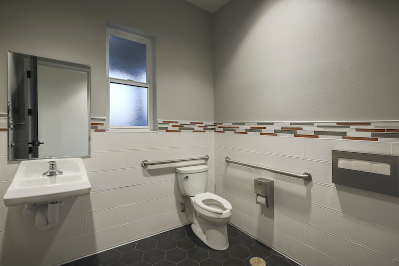 The Reserve at Spanos Park Golf Facility Commercial Construction General Contractors Near Me Stockton Interior Bathroom