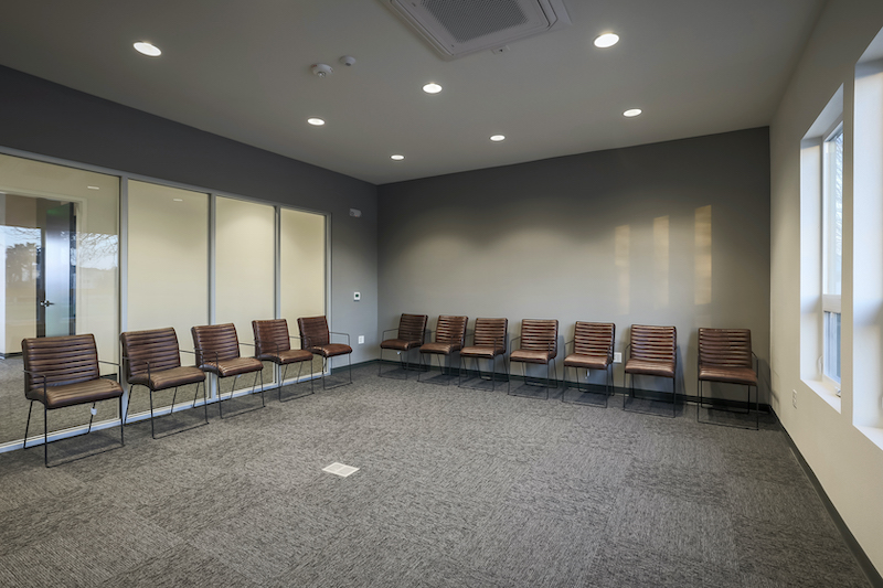The Reserve at Spanos Park Golf Facility Commercial Construction General Contractors Near Me Stockton Interior Team Room