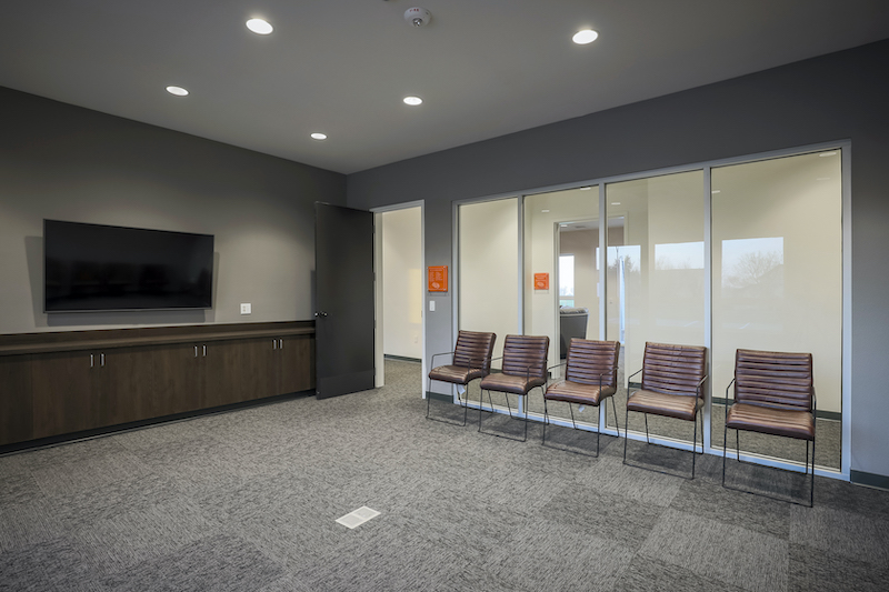 The Reserve at Spanos Park Golf Facility Commercial Construction General Contractors Near Me Stockton Interior Team Conference Room