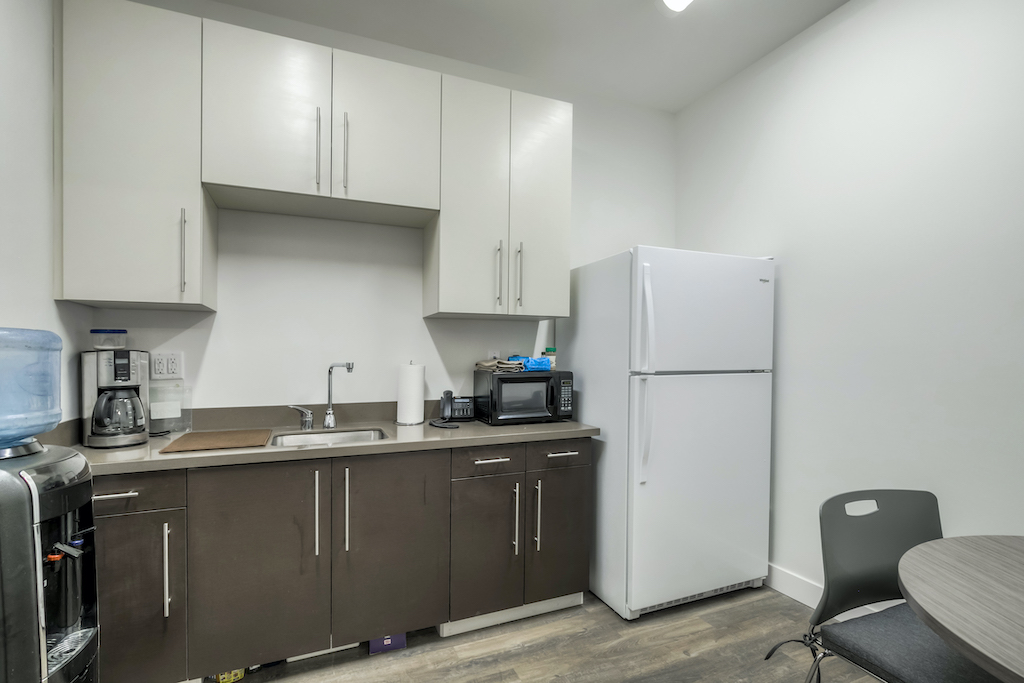 BAC Community Bank Commercial Construction Companies Near me General Contractor Brentwood East Bay Breakroom
