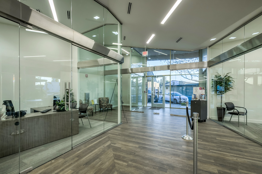 BAC Community Bank Commercial Construction Companies Near me General Contractor Brentwood East Bay Interior Private Offices
