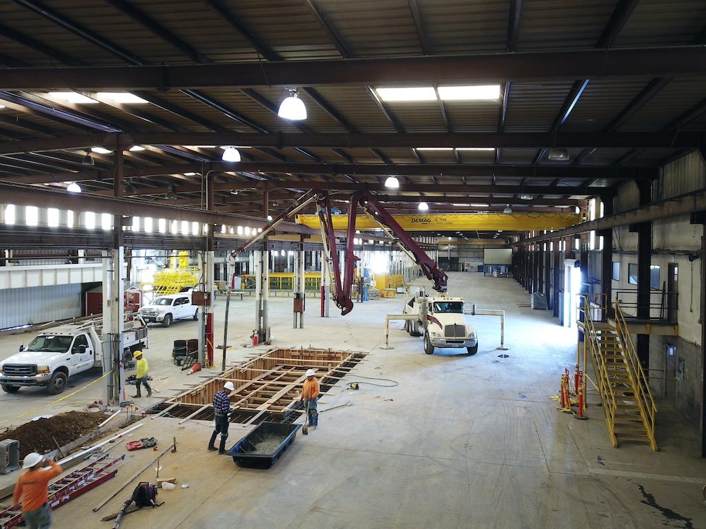 Jensen Precast Industrial Construction Companies Near Me General Contractor Warehouse Stockton Interior