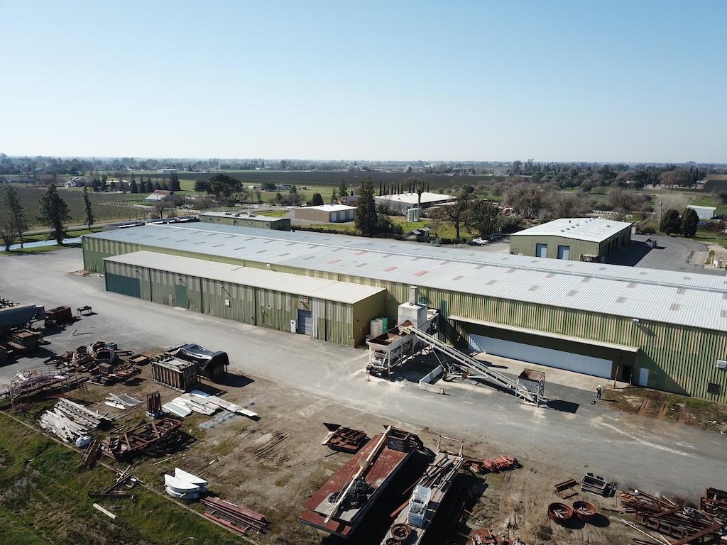 Jensen Precast Industrial Construction Companies Near Me General Contractor Warehouse Stockton Exterior Building Conveying Dump