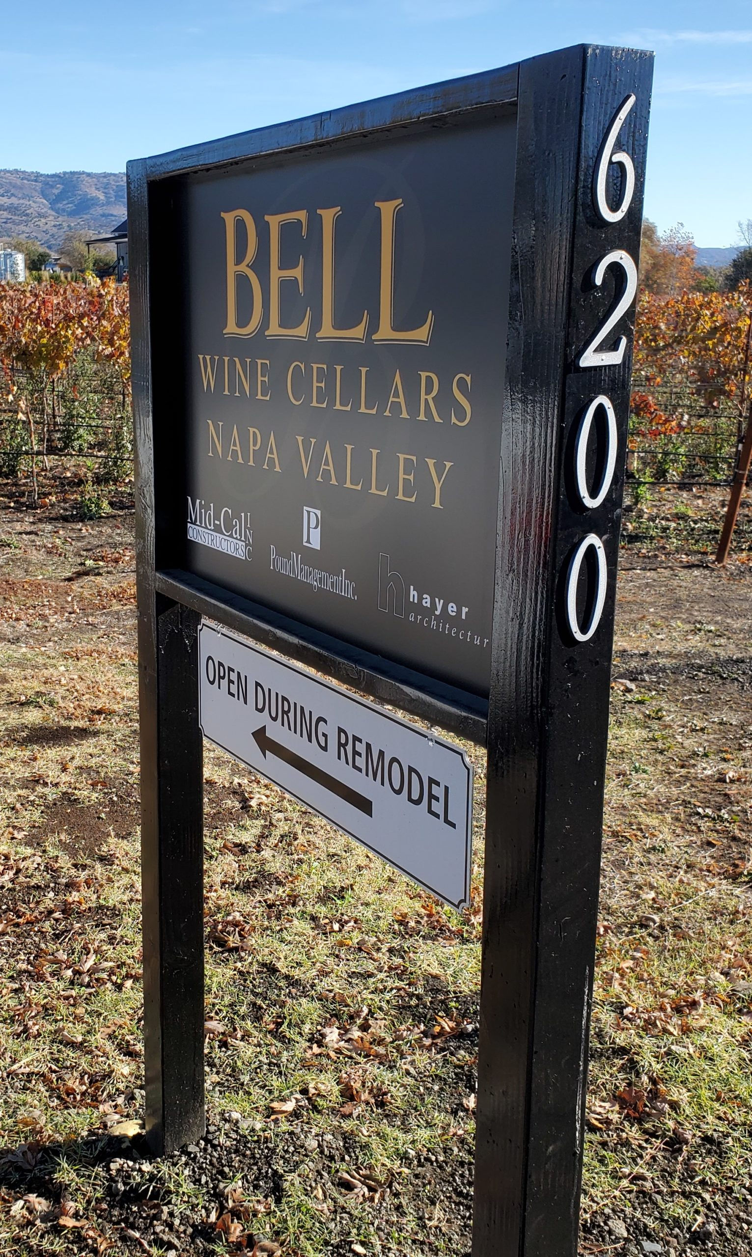 Bell Wine Cellars Remodel Renovation Commercial Construction Companies Near Me General Contractor Napa Winery Vineyard Open During Remodel