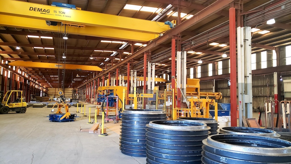 Jensen Precast Industrial Construction Companies Near Me General Contractor Warehouse Stockton Steel Frames