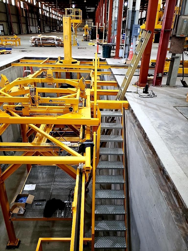 Jensen Precast Industrial Construction Companies Near Me General Contractor Warehouse Stockton Interior Floor Stariways