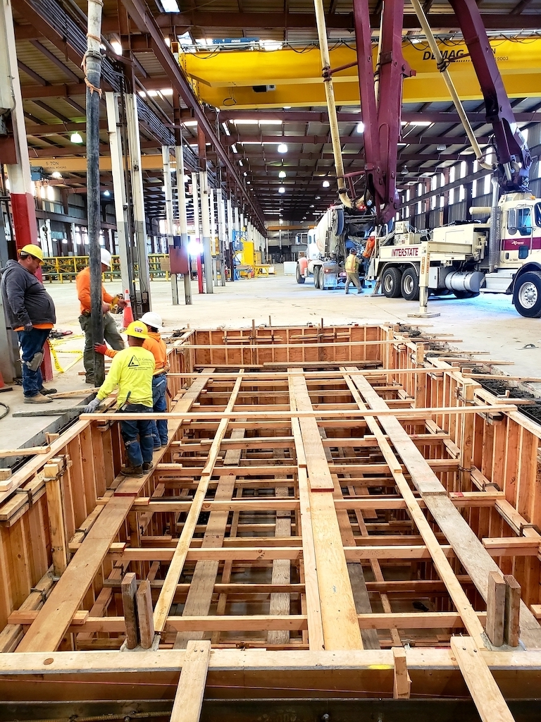 Jensen Precast Industrial Construction Companies Near Me General Contractor Warehouse Stockton Interior Builder